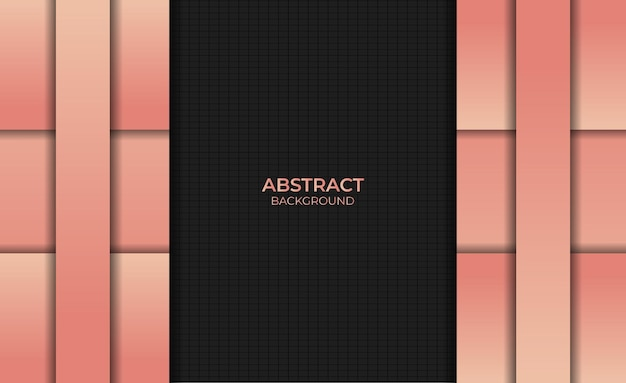 Abstract gradient orange color background design style