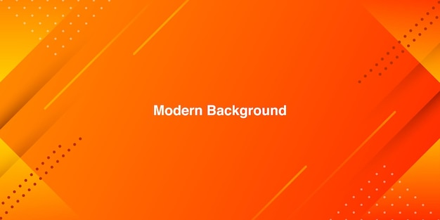 Abstract gradient orange color in modern minimal background