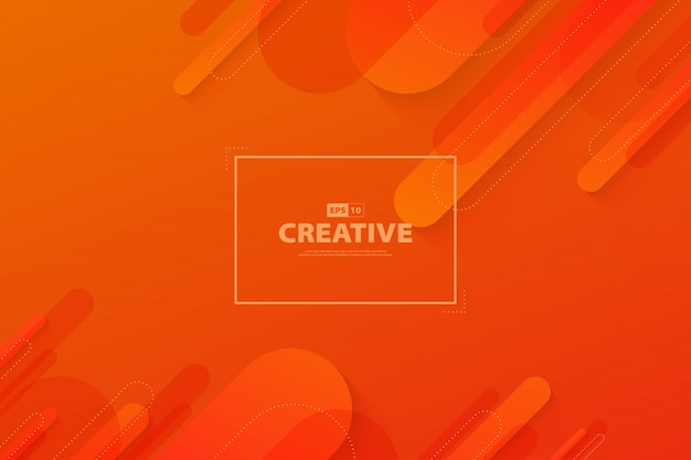 Abstract gradient orange and red color motion element fluid movement landing page background.