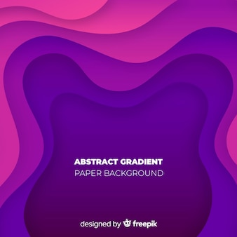 Abstract gradient paper background