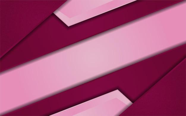 Абстрактный градиент розовый фон сочетание с красным