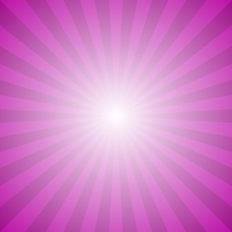 Abstract gradient ray burst background - hypnotic vector graphic from radial rays