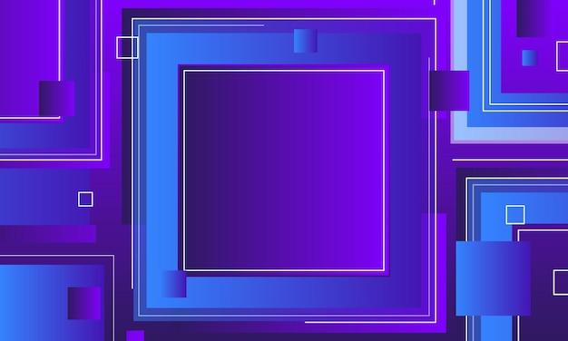 추상 그라데이션 사각형 배경입니다.