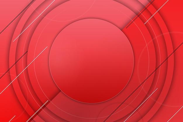 Абстрактный градиент фона красного знамени. векторная иллюстрация.