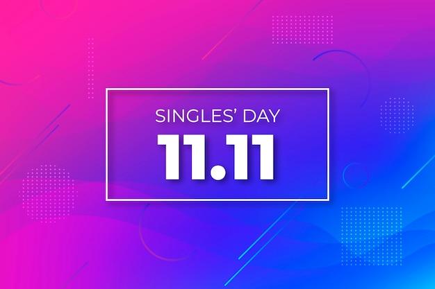 抽象的なグラデーションシングルの日