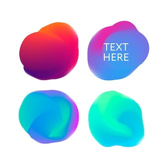 Abstract gradient in the sphere of violet, pink, blue.