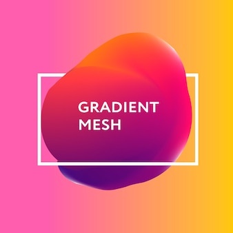 Abstract gradient sphere of violet, pink, blue.
