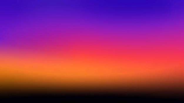 Абстрактный градиент закат небо фон