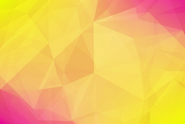 Abstract gradient triangle background
