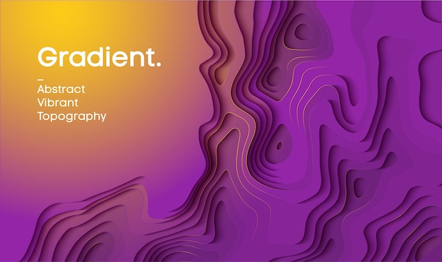 Abstract gradient vector background.