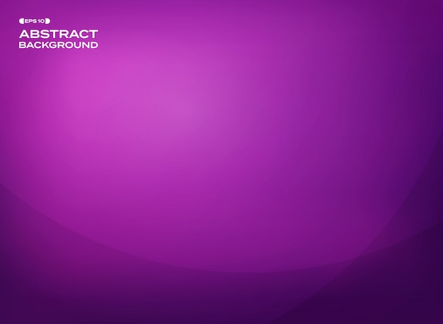 Abstract of gradient violet background with copy space.