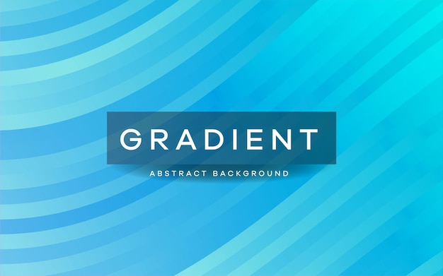Abstract gradient wavy striped background.