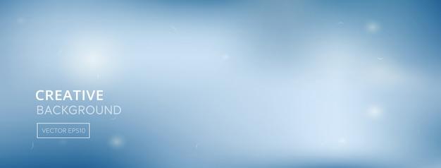 Абстрактный градиент белый синий медицинский баннер фон