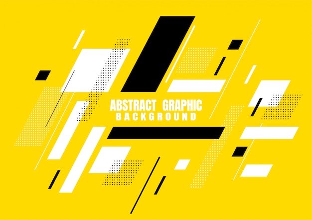 Abstract graphic geometric shapes design for cover