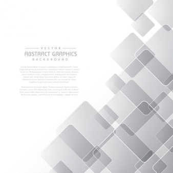 Abstract gray background with square shapes