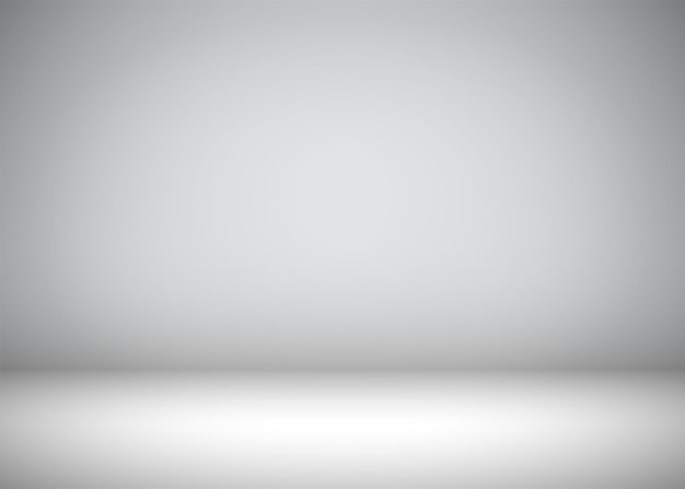Abstract gray background with vignette for text or object placement
