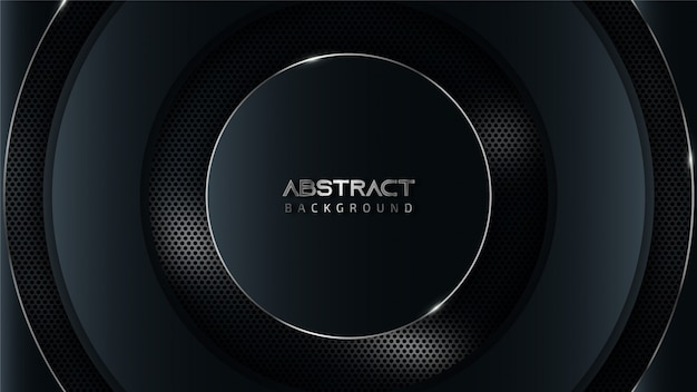 Abstract gray and blue tech background