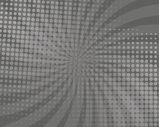 Abstract gray comic background design
