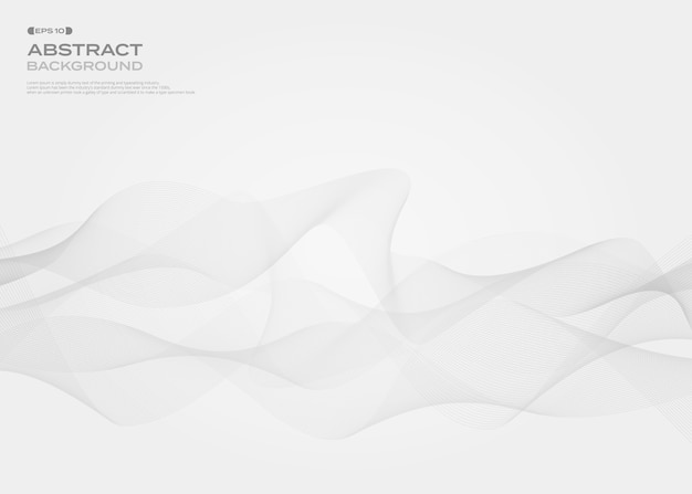 Abstract of gray free style stripe line pattern background.