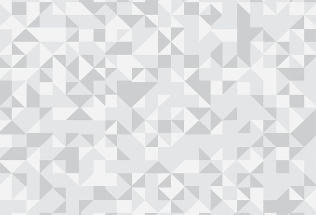 Abstract gray geometric pattern background
