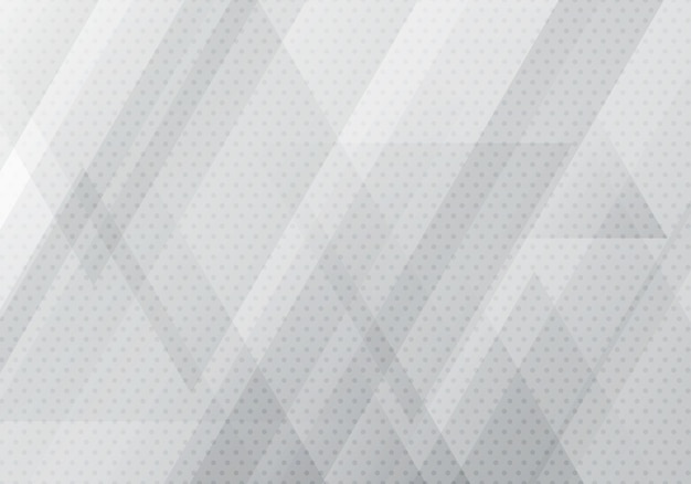 Abstract gray geometric triangles shapes background