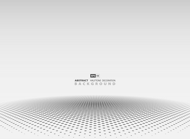 Abstract gray halftone background