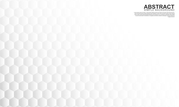 抽象的な灰色の六角形の形の背景ベクトル図