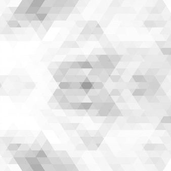 抽象的な灰色の三角形のパターン