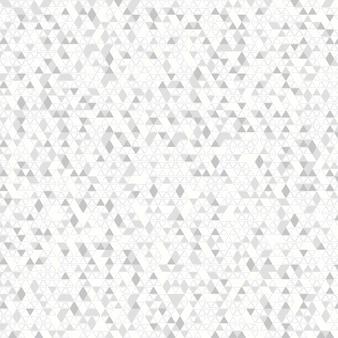 装飾背景の抽象的な灰色の三角形の技術。