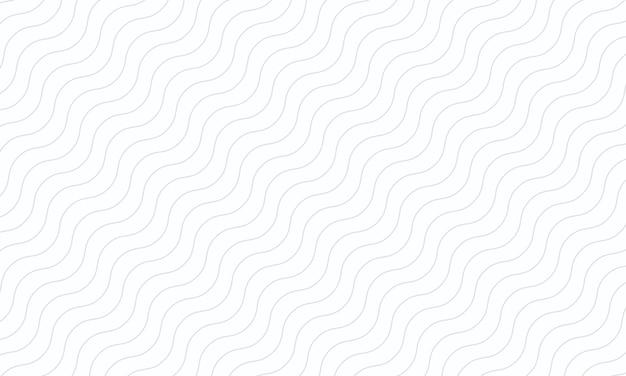 흰색 바탕에 완벽 한 패턴에 추상 회색 웨이브 라인. 당신의 베개를 위한 디자인.