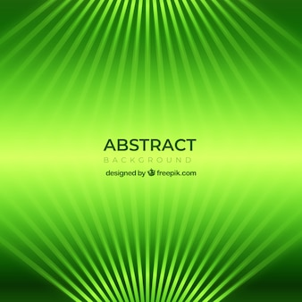Abstract green background with flat design
