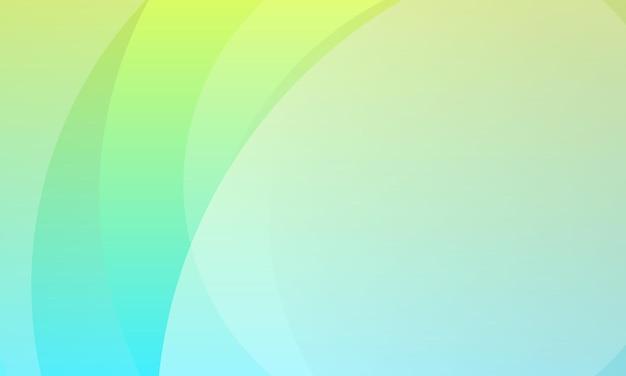 Абстрактный зеленый синий градиент цвета дизайн фона. лучший умный дизайн для вашего бизнеса.