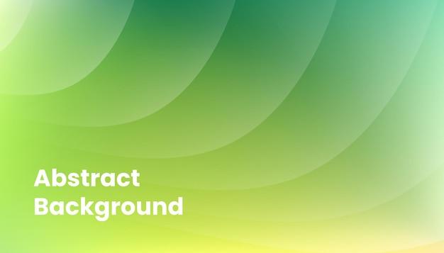 抽象的な緑のぼかしグラデーションの背景デザイン