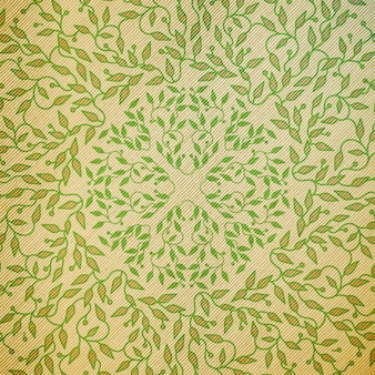 Abstract green color wooden design.