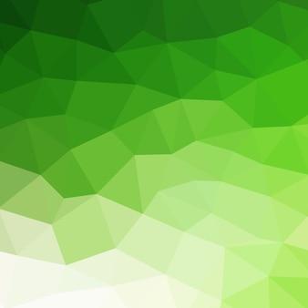抽象的なカラフルな幾何学的な緑