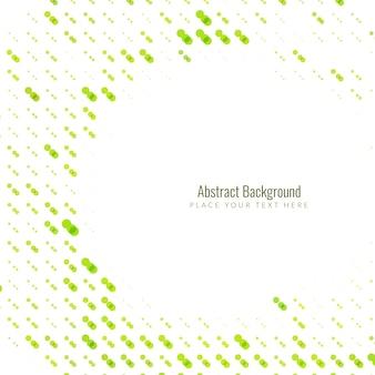 抽象的な緑のハーフトーンの背景