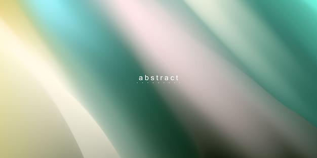 Абстрактная зеленая жидкая концепция градиента фона для вашего графического дизайна,