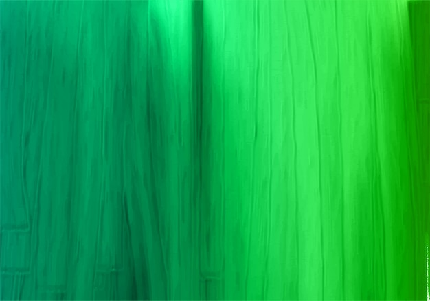 Abstract green paint texture watercolor background