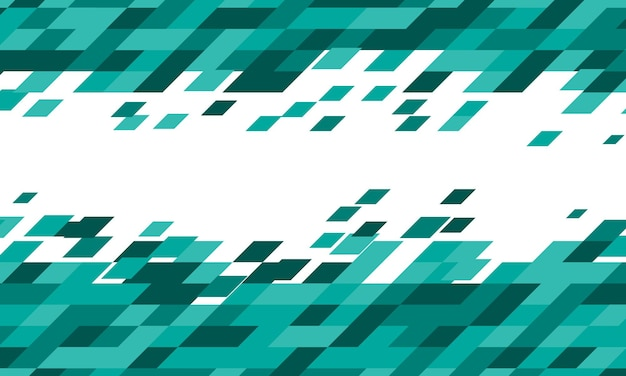 Abstract green polygonal background. vector illustration.