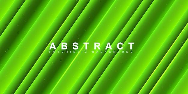Абстрактный зеленый фон в полоску
