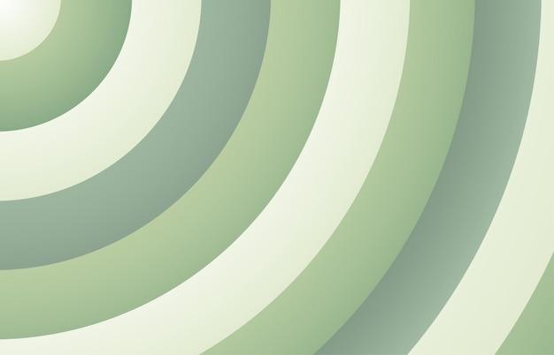 抽象的な緑のストライプラインパターンテンプレート