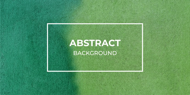 Abstract green watercolor web banner texture background