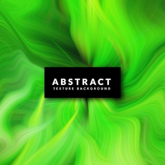 Abstract green wavy liquid marbel texture background