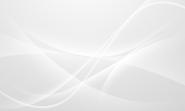 Abstract grey background with dynamic waves. technology network.