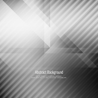 Abstract grey color geometric stylish background
