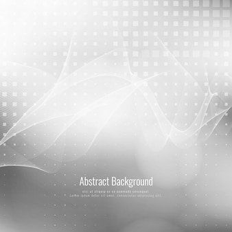 Abstract grey color wave modern background