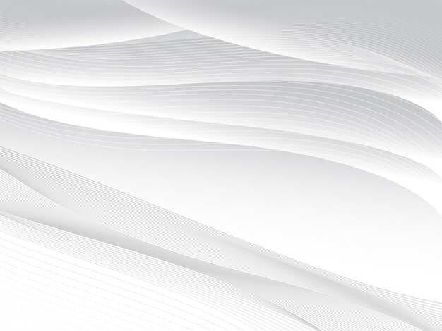Abstract grey diagonal curve line background.