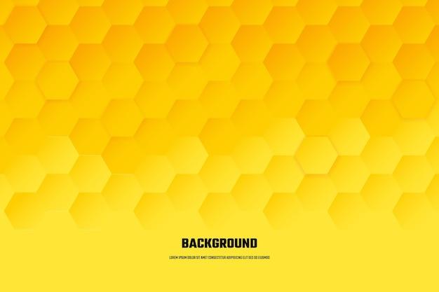 Abstract grey hexagon background vector design