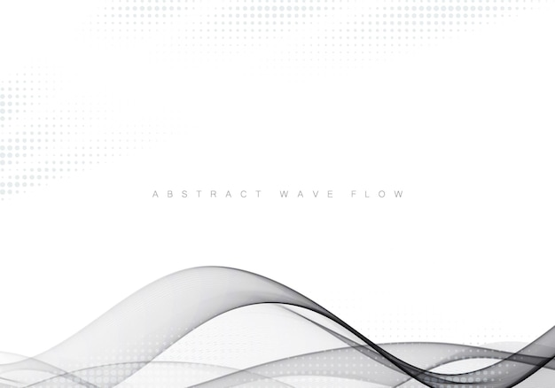 Абстрактный серый современный абстрактный фон макета линии градиент футуристический гладкая галочка сертификат фон