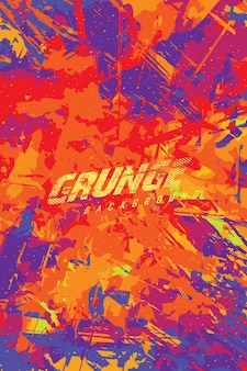 Abstract grunge background color explosion for jersey team racing cycling football gaming